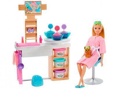 Boneca Barbie Fashionista Conjunto Spa de Luxo - com Acessórios Mattel