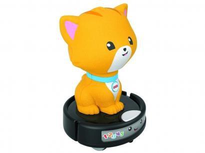 Brinquedo Interativo Fisher-Price - Aprender e Brincar Gatinho Engatinha Comigo Mattel