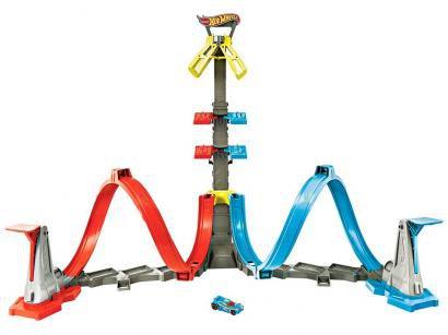 Pista Hot Wheels Action Desafio Da Altura Mattel