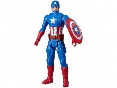 Boneco Capitão América Marvel Vingadores - Titan Hero Series 30cm Hasbro