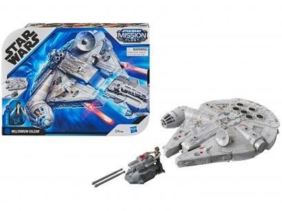 Nave Star Wars Star Wars Mission Fleet - Millenium Falcon Hasbro com Acessórios