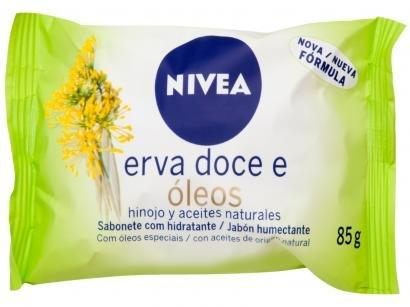 Sabonete em Barra Nivea Erva Doce & Óleos 85g