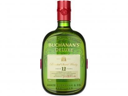 Whisky Buchanans Deluxe 12 anos Blended 1L