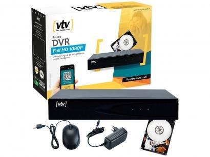 Gravador de Vídeo DVR VTV Digital VTV-011 - 4 Canais HDMI 500GB