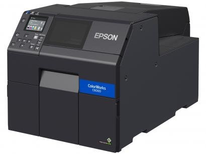 Impressora de Etiquetas Jato de Tinta Epson - ColorWorks CW-C6000AU