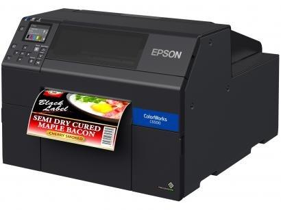Impressora de Etiquetas Jato de Tinta Epson - ColorWorks CW-C6500AU