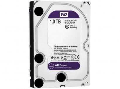 HD 1TB Western Digital Purple SATA III 7200RPM - WD10PURX