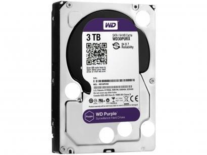 HD 3TB Western Digital Purple SATA III 7200RPM - WD30PURX