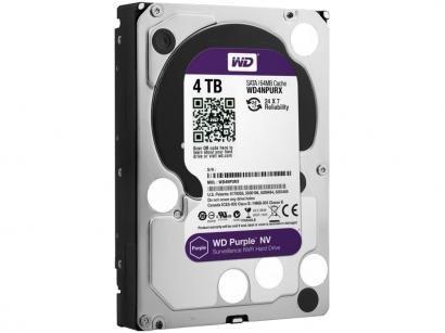 HD 4TB Western Digital Purple SATA III 7200RPM - WD40PURX