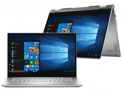 """Notebook 2 em 1 Dell Inspiron 14 5000 210-AZJW - Intel Core i5 8GB 256GB SSD Touch Screen 14"""""""