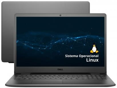 """Notebook Dell Inspiron 15 3000 389-DZCM - Intel Core i3 4GB 256GB SSD 15,6"""" LED Linux"""
