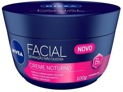 Hidratante Facial Nívea - Creme Facial Noturno - Nivea