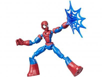 Boneco Homem-Aranha Marvel Band and Flex - com Acessórios Hasbro