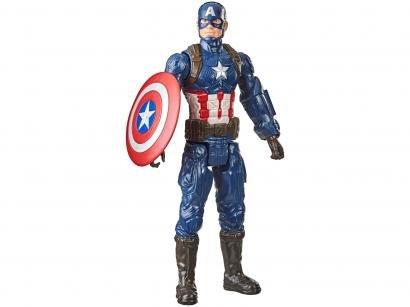 Boneco Capitão América Marvel Vingadores - Titan Hero Series Hasbro