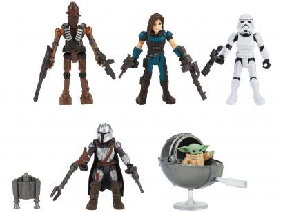 Boneco Star Wars Mission Fleet Defend The Child - com Acessórios 5 Unidades Hasbro