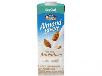 Bebida Vegetal de Amêndoas Almond Breeze - Original 1L