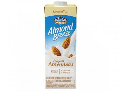 Bebida Vegetal de Amêndoas Almond Breeze - Baunilha 1L