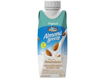 Bebida Vegetal de Amêndoas Almond Breeze - Original 250ml