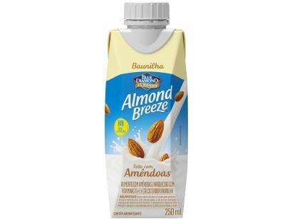 Bebida Vegetal de Amêndoas Almond Breeze - Baunilha 250ml