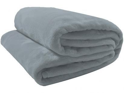 Cobertor Casal Camesa Microfibra 100% Poliéster - Velour Neo Azul