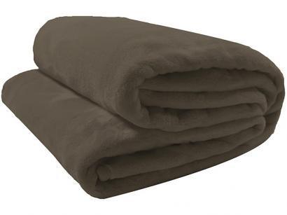 Cobertor Casal Camesa Microfibra 100% Poliéster - Velour Neo Marrom