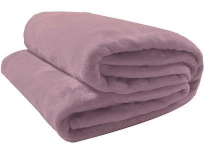 Cobertor Casal Camesa Microfibra 100% Poliéster - Velour Neo Rose