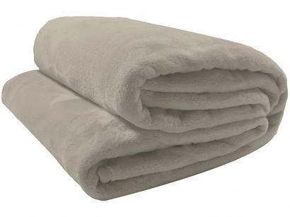 Cobertor Casal Camesa Microfibra 100% Poliéster - Velour Neo Bege
