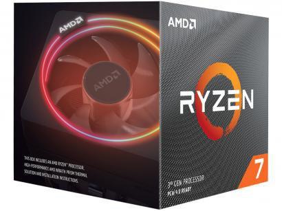 Processador AMD Ryzen 7 3700X 3.60GHz - 4.40GHz Turbo 32MB