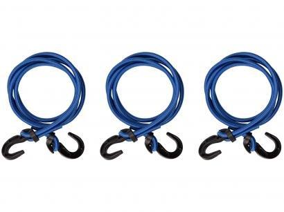 Elástico para Bagageiro 1,5m Tramontina - 43784003 Azul 3 Unidades