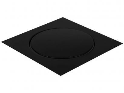 Ralo Click Quadrado Inox 15x15cm Ducon Metais - Black BL6190 Preto Fosco