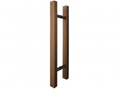 Puxador de Porta de Vidro e Madeira Ducon Metais - Classic CL3141 45cm Bronze