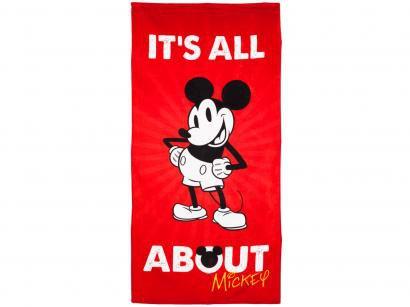 Toalha de Praia Döhler 100% Algodão Mickey