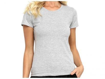 Camiseta Hering Básica 0241 Feminina Mescla