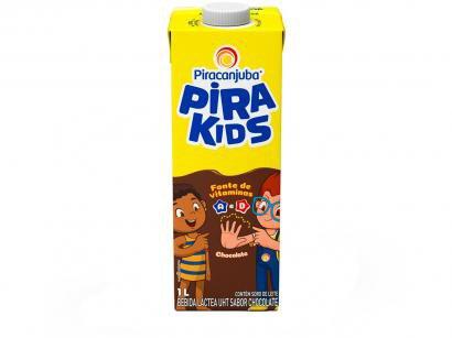 Bebida Láctea Piracanjuba Pirakids Chocolate 1L