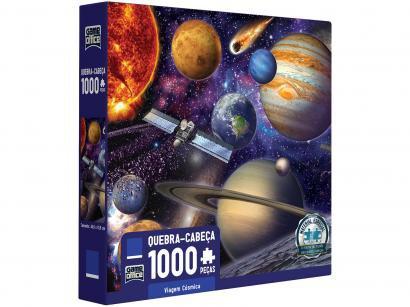Quebra-cabeça 1000 Peças Game Office - Viagem Cósmica Toyster