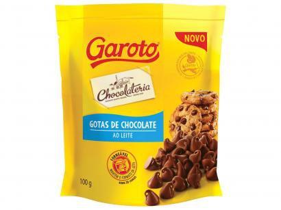 Gotas de Chocolate Ao Leite 100g Garoto