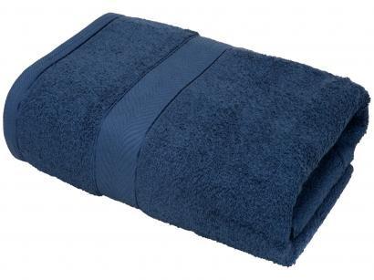 Toalha Banhão Teka 100% Algodão - Duomo Azul Cobalto