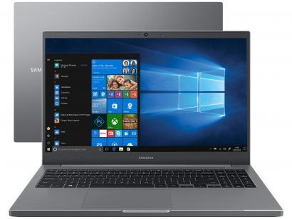 "Notebook Samsung Book NP550XDA-XS1BR Intel Core i7 - 8GB 256GB SSD 15,6"" Full HD LED Windows 10"