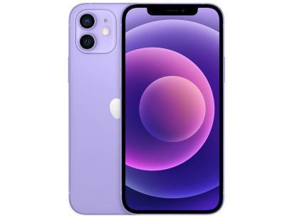 "iPhone 12 Apple 128GB Roxo Tela 6,1"" 12 MP iOS"
