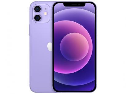 "iPhone 12 Apple 256GB Roxo Tela 6,1"" 12 MP iOS"