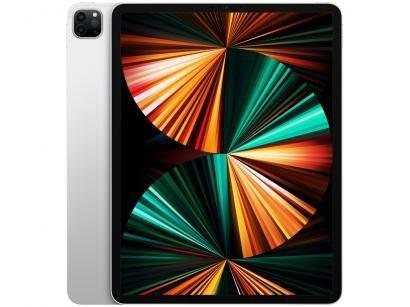 """iPad Pro 12,9"""" Apple M1 Wi-Fi 128GB - Prateado"""