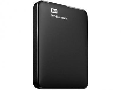 HD Externo Western Digital 4TB USB 3.0 Elements