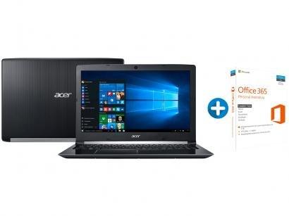 "Notebook Acer Aspire 5 A515-51-56K6 Intel Core i5 - 8GB 1TB LED 15,6"" +..."