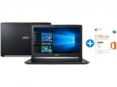 "Notebook Acer Aspire 5 A515-51-55QD Intel Core i5 - 4GB 1TB LED 15,6"" +..."