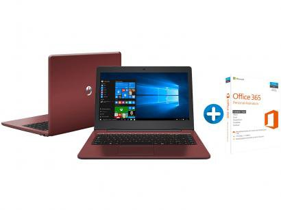 Notebook Positivo Stilo Colors XC3634 - Intel Dual Core + Microsoft Office 365...