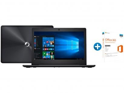 "Notebook Positivo Stilo XC3650 Intel Dual Core - 4GB 500GB LCD 14"" + Microsoft..."