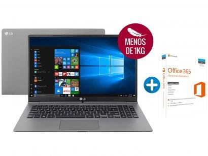 "Notebook LG Gram Intel Core i5 8GB 128GB - LCD 15,6"" + Microsoft Office 365..."