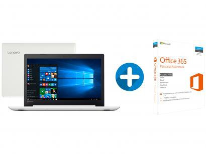 "Notebook Lenovo Ideapad 320 Intel Core i3 4GB - 500GB 15,6"" + Microsoft Office..."