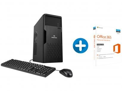 Computador Positivo Station 41TB Intel Core i5 - 4GB 1TB + Microsoft Office 365...