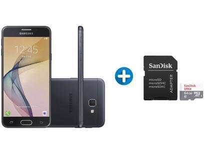 Smartphone Samsung Galaxy J5 Prime 32GB Preto - Dual Chip 4G + Cartão de...